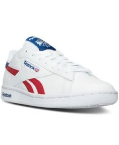 Reebok Men's NPC UK Retro Casual Sneakers from Finish Line $41.98 Take your bold style to the next level in the classics, reinvented. The Reebok Men's NPC UK Retro Casual Sneakers are a vintage pair that don't disappoint with soft leather material for comfort along with foam midsoles for added cushioning.