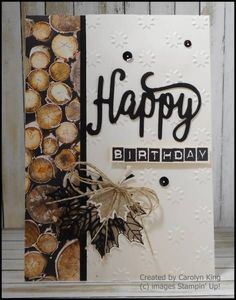 Super vintage cards stampin up paper ideas Christmas Cards That Inspire Super Vintage Karten stempel Masculine Birthday Cards, Birthday Cards For Men, Masculine Cards, Male Birthday, Birthday Quotes, Leaf Cards, Stamping Up Cards, Fathers Day Cards, Thanksgiving Cards