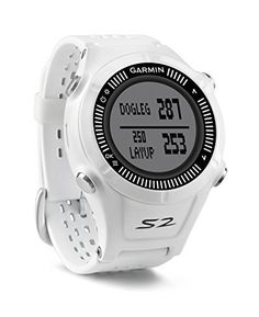 a578ca4a886c Garmin Approach S2 GPS Golf Watch with Worldwide Courses White0Certified  Refurbished -- Read more at