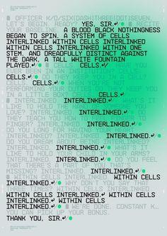 HelloMuller / Blade Runner 2049 / Interlinked / Poster / 2017