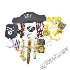 Купити Набір піратський, 21 предмет оптом. Вигідна ціна в Україні! Personalized Items