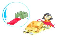 Neelu's Big Box by Nandini Nayar and picture by Shreya Sen   http://www.tulikabooks.com/our-books/bilingual-books/bilingual-picture-books/neelus-big-box