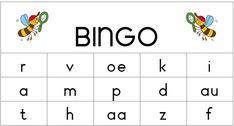 Bingo veilig leren lezen Na kern 6.
