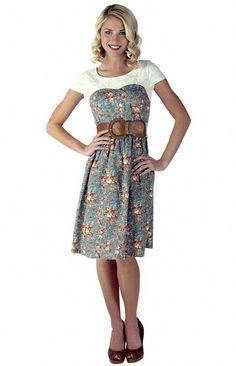 3ca7f7a8b7e Mikarose Women s Daisy Modest Dress
