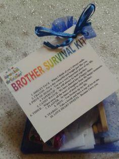 BROTHER SURVIVAL KIT Novelty Keepsake Birthday Gift Present For Him in Home, Furniture & DIY, Celebrations & Occasions, Other Celebrations & Occasions | eBay