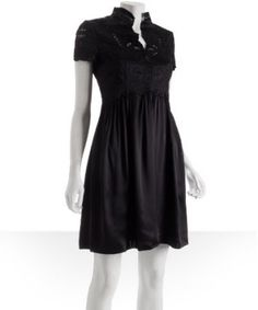 Little Black Dress. I think this would look nice on me. Totally my style...modest, but cute and stylish :)