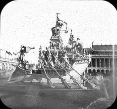 World's Columbian Exposition: Columbian Fountain, Chicago, United States, 1893.