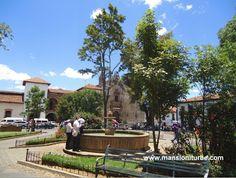 En Pátzcuaro la Plaza Gertrudis Bocanegra