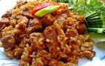 Karajszeletek minden jóval recept Kautz Jozsef konyhájából - Receptneked.hu Fried Rice, Fries, Ethnic Recipes, Food, Bulgur, Red Peppers, Hoods, Meals, Nasi Goreng