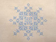 Cross Stitch Snowflake
