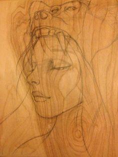 Work in progress sketch by Josephine Kahng http://www.gramercyavenue.com/