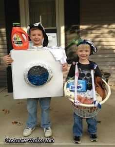 Dirty Laundry - DIY Halloween costume ideas