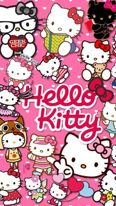 Collage Hello kitty