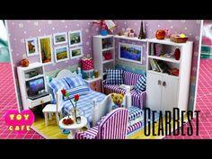 Minyatür Oturma Odası Yapımı | DIY Miniature Dollhouse Living Room - YouTube
