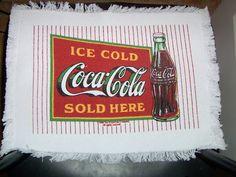 Antique Coca Cola Iron Wood Park Bench Rare By