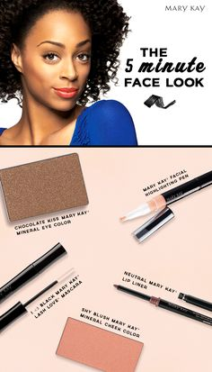 Need to spruce up your beauty look in a dash? These morning routine essentials will make you bright-eyed and ready to face the day in no time! | Mary Kay