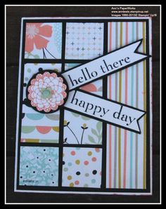 using SAB products available for FREE with a qualifying order -  Ann Lewis, Independent Stampin' Up! Demonstrator