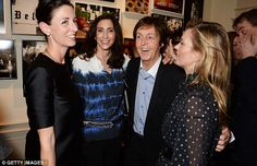 Paul McCartney Turns Out To Celebrate Daughter Marys Book Launch