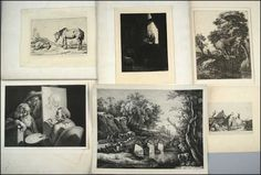 A COLLECTION OF PRINTS. Lot 150-6025