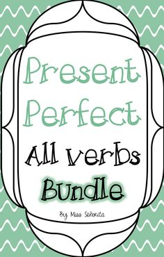 Everything you need to teach the Spanish present perfect tense!  Includes lesson plans, powerpoints to teach the verb forms, classwork activities, bell ringers, exit tickets, homework assignments, and a quiz!
