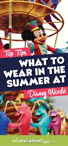 If you have a Disney World vacation planned for the summer you may be wondering what you should wear. Of course, it is important to note that summer is a relative term down here. Some years we can get the oppressive heat as early as April. Here are some good ideas of what to wear at #DisneyWorld in the Summer. #disneystyle