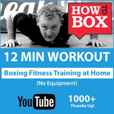 This video workout has achieved over 128k views on YouTube.   We are getting some great comments.   No wraps, no gloves, no heavy bag needed, but are loving this awesome 'boxing' routine - http://youtu.be/Ca1vygb2b5s
