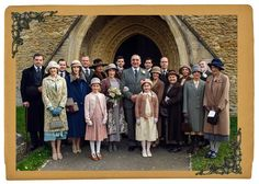 Downton Abbey series 6: see Mr Carson and Mrs Hughes tie the knot