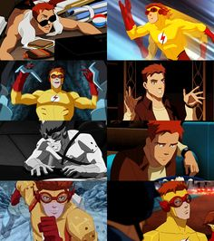 Wally West (Kid Flash) ~ Young Justice Is it weird that I have a HUGE fictional character crush on Wally