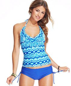 slimming swimwear on Pinterest | Tankini Top, Monokini and ...