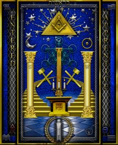 Masonic Art, Freemasonry, Occult, Spirituality Art, Spirituality