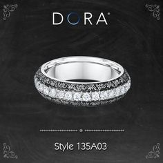 Evolved 17th century Renaissance designs from Dora's Venetian Lace collection. >>http://dorarings.com/stores/ #weddingrings