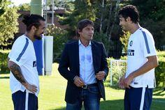 Pablo Osvaldo, Andrea Ranochia & Antonio conte