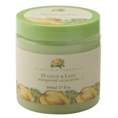 Asquith & Somerset Mango & Lime Exfoliating Sugar Scrub 17 Fl.Oz. by Asquith & Somerset. $15.99. Asquith & Somerset Mango & Lime Exfoliating Sugar Scrub 17 Fl.Oz. An exotic combination of citrus & fruity fragrance makes this an exotic treat that exfoliates and leaves skin silky smooth. Jar format.