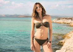 Aida Artiles te presenta las tendencias de esta temporada en baño con #CarrefourTex Summer Time, Bikinis, Swimwear, My Design, Fashion, Red Bikini, Seasons, Trends, Moda