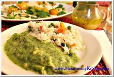 Quick & Easy Fish Fillets with creamy parsley sauce │Mexican Recipes #mexicanrecipes #food #mexicancuisine