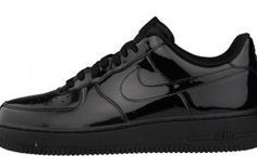 "Nike Air Force 1 Low ""Black Patent"" (Foot Locker Europe Exclusive)"