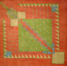 Custom mission rugs rugs frank lloyd wright and custom rugs - Frank lloyd wright area rugs ...