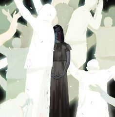 Some Christians believe that God rewards the faithful. So why did Kate Bowler get Stage 4 cancer? Her Op-Ed asks why there must be a reason, because without one we are left as helpless and possibly as unlucky as everyone else. (Illustration: Dadu Shin)