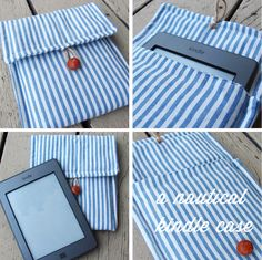 O Viajando Cabinet: DIY: Kindle Caso Tutorial