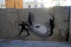 Leggere, come io l'intendo, vuol dir profondamente pensare.  #Alfieri #streetart #zero15  #VentagliDiParole