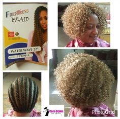 Can Crochet Hair Get Wet : ... can get wet, they can be shampooed/conditioned, installation in as