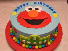 38 Best Elmo Birthday Cake Images Elmo Cake Elmo Party Fondant Cakes