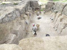 Hallado un yacimiento de la Edad de Hierro excavado en la roca en el alto de un cerro de Garcinarro, en el Valle de Altomira.