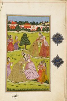 Philadelphia Museum of Art - Collections Object : Gulshan-i 'Ishq (Rose Garden of Love): Mughal Paintings, Oil Paintings, Mughal Empire, Philadelphia Museum Of Art, Golden Age, Love Story, Mystic, Persian, Miniatures