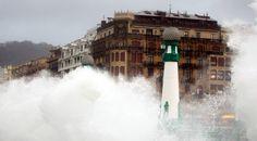 La fuerza del temporal en Gipuzkoa - diariovasco.com