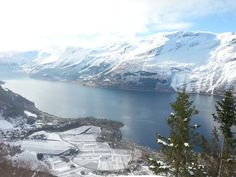 View from Hovden Lofthus Hordaland Norway [3264x2848]