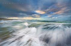 Erratic Patterns by DrewHopper on DeviantArt Pacific Ocean, Simply Beautiful, New Trends, Niagara Falls, Coast, Waves, Deviantart, Sunset, Patterns