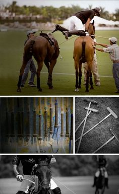 Nacho Figuera at work and play |Ralph Lauren Magazine - I love the way polo players can leap from one horse to the other!