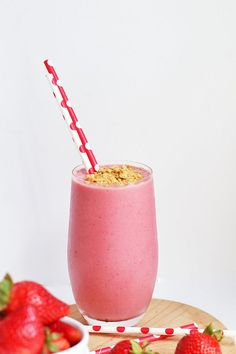 Vegan Strawberry Che