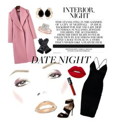 """Night Glam"" by emilielacas ❤ liked on Polyvore featuring Boohoo, Carvela, Bounkit, Allurez, NARS Cosmetics and Dents"